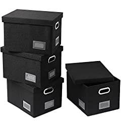 Space & Time Saving The foldable storage basket will meet your various storage needs by providing additional storage space, liberate you from endless search for your stuffs, make your home spacious and neat. Perfect Decoration On the side...