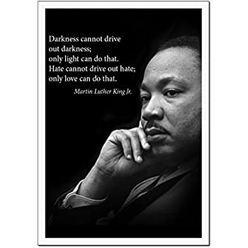 Amazon Com Martin Luther King Jr Photo Picture Poster Framed Quote