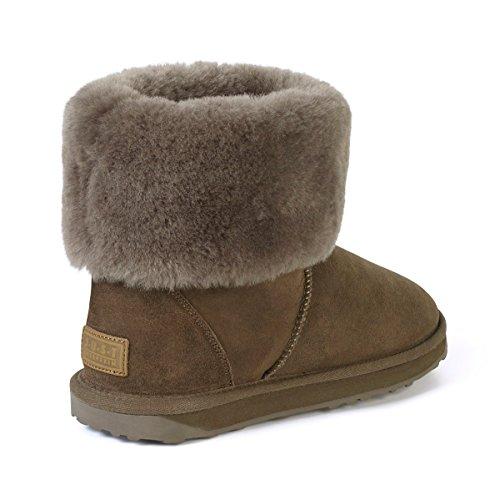 Sheepskin Just Cornwall Boots Ladies Mink Sheepskin O7UwBg