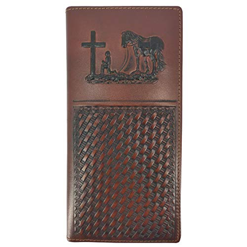 Western Wallet Genuine Leather Bifold product image
