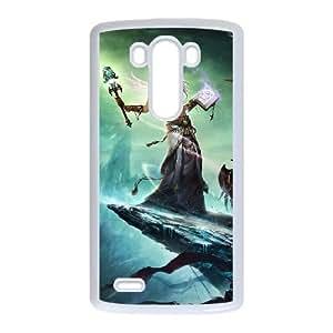 LG G3 White phone case world of warcraft WCT4274098