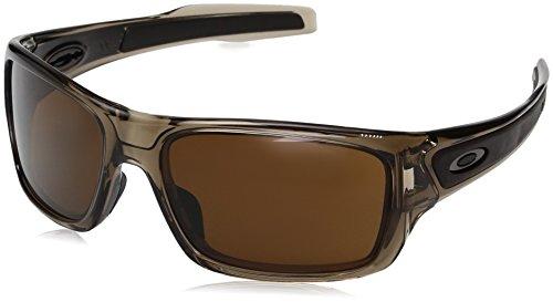 Oakley Youth Boys OJ9003 Turbine XS Rectangular Sunglasses, Brown Smoke/Dark Bronze, 57 ()