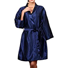 YACUN Women's Kimono Robes Satin Silk Nightwear