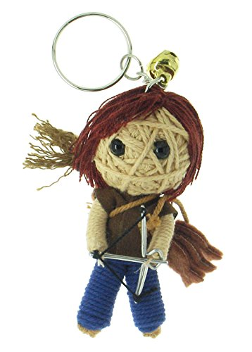 Daryl Dixon Voodoo String Doll Keyring (Daryl From The Walking Dead Costume)