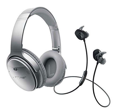 Bose QuietComfort Silver SoundSport Black