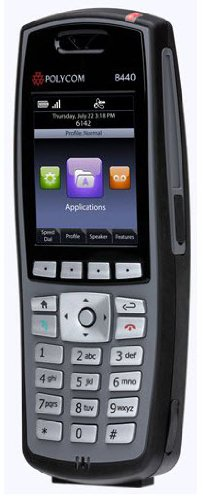 - SpectraLink 8440 Handset,Black - Model#: 2200-37150-001