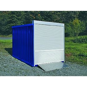 Roller Shutter Container Store Outside Storage Unit Outside Store  sc 1 st  Amazon UK & Roller Shutter Container Store Outside Storage Unit Outside Store ...