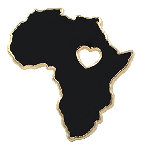 Real Sic Africa Pin - Wakanda Forever, BLM, Black Panther Enamel Pin - Black Lives Matter Pride Lapel Pin for Jackets, Backpacks, Bags, Hats & Tops in Pan-African Colors