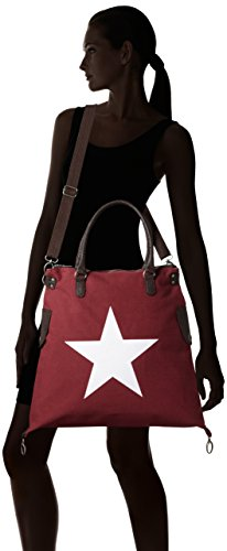 Bags4less Bandoulière Rot kirschrot F3151 Sac Oqrw0EOR