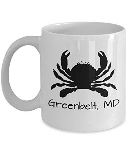 Greenbelt crab mug | Maryland themed gift