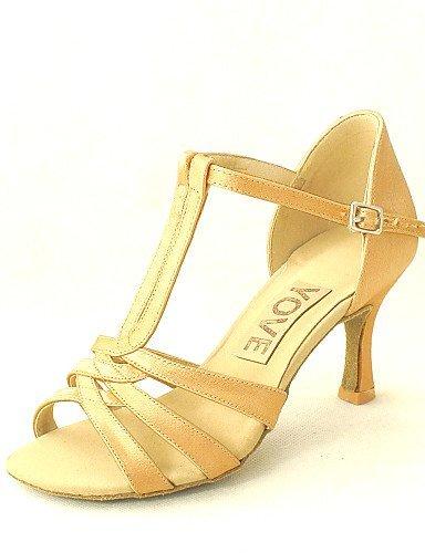 ShangYi Latin Customizable Women's Sandals Satin Dance Shoes (More Colors) fuchsia 0qczgD