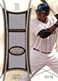 #8: 2014 Topps Tier One Triple Relics #TR-DOR David Ortiz Game Worn Jersey Baseball Card – Only 25 made!