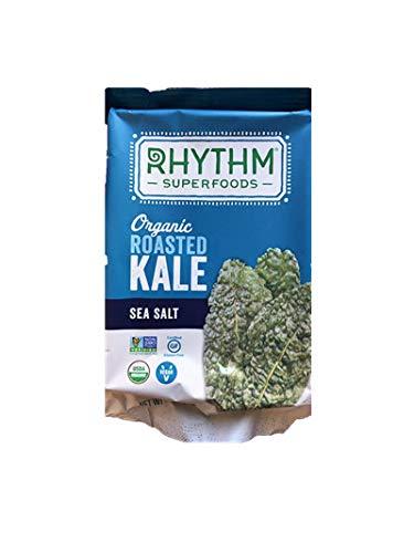 Rhythm Superfoods Organic Roasted Kale with Sea Salt 0.35 OZ Packs