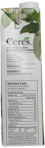 Ceres Juices Passion Fruit Juice, 33.8 oz by Ceres (Image #3)