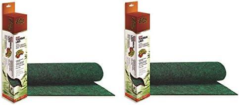(2 Pack) Zilla Reptile Terrarium Bedding Substrate Liner, Green – 20 Gallon – The Super Cheap