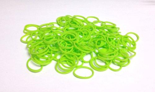Rainbow Loom Refill (Neon Green) - 8