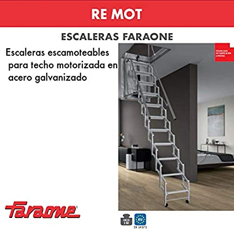 ESCALERA ESCAMOTEABLE MOTORIZADA RE.MOT. FARAONE. LCS (MOT70110 ...