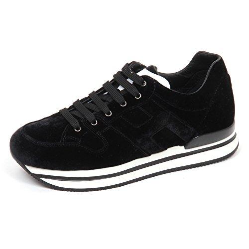 Donna H222 Hogan Shoe Sneaker E2980 Velvet velluto Scarpe Woman qgqyUH46rW