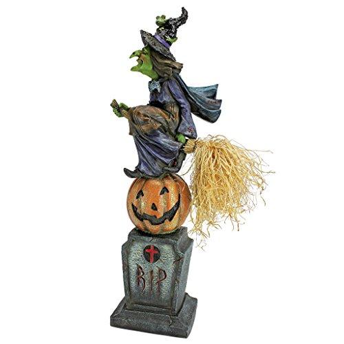 Hocus Pocus Costumes Halloween (The Witches Midnight Halloween Ride Statue - Witch Statue - Halloween Decoration)