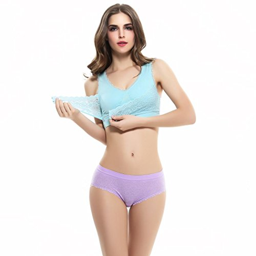 [Sports Bra ,Beautyvan Women Push Up Wire Free Padded Anti-shock Sweat Lace Comfortable Fashion Sports Bra (M,] (Halter Stretch Costumes)