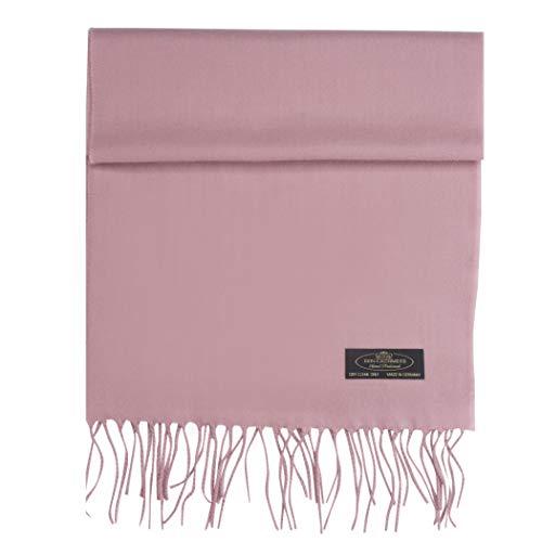 Ladies Scarf Business - 100% Cashmere Scarf Super Soft For Men And Women Warm Cozy Scarves Multiple Colors FHC Enterprize (Blush Pink)