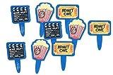 12 pc Movie Night Cupcake Picks