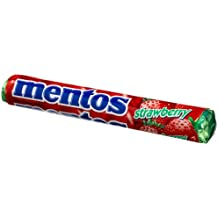 Mentos Strawberry Candy, 1.32-Ounce Rolls (Pack of 30)