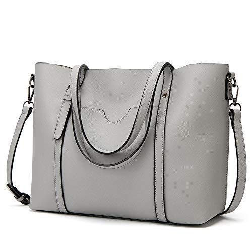 LoZoDo Women Top Handle Satchel Handbags Shoulder Bag Tote Purse -