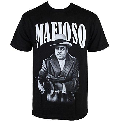 Herren T-Shirt MAFIOSO - Capone Black 53004-2