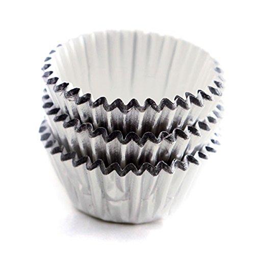 NORPRO Nor-3595 Silver Petit Four Cups Foil (Baking Petit Fours)