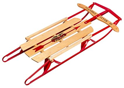 amazon com flexible flyer sled snow sleds sports outdoors