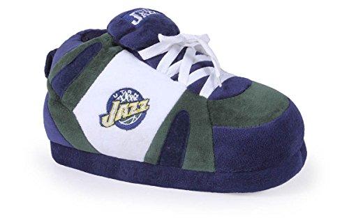 Pieds Heureux Et Pieds Confortables Hommes Et Femmes Licenciés Nba Sneaker Pantoufles Utah Jazz