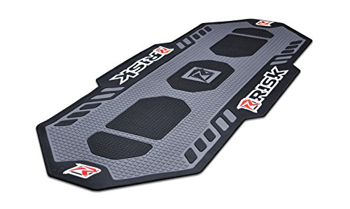 Motocross Pit - Risk Racing 00244 Black/Grey Factory Pit Mat