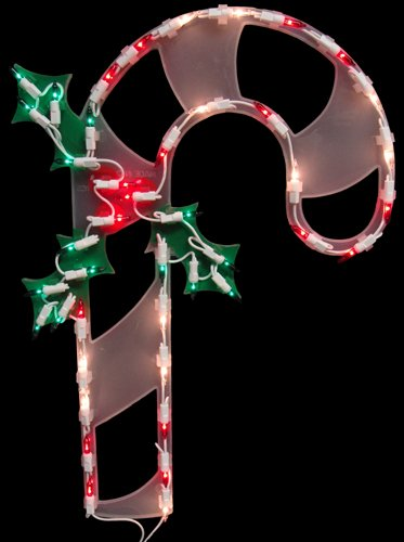 Lighted Candy Canes For Outdoors