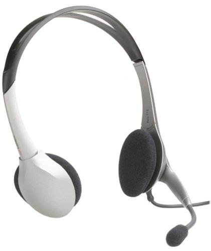 Labtec Axis 712 Digital USB Noise Cancelling Computer Stereo Headset