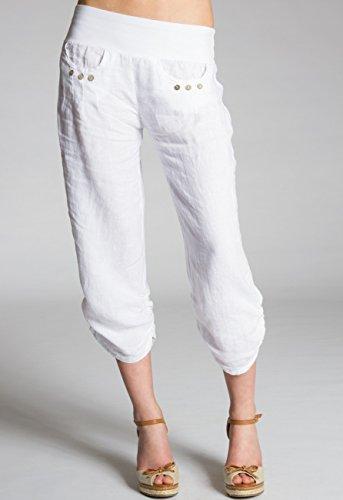 CASPAR Fashion Zapatos de Vestir Para Mujer Blanco Blanco TKwA9Vu