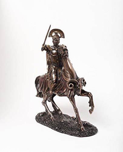 Figurine Greek God Olympian Statue Roman Mars The God of War Son of Zeus ()