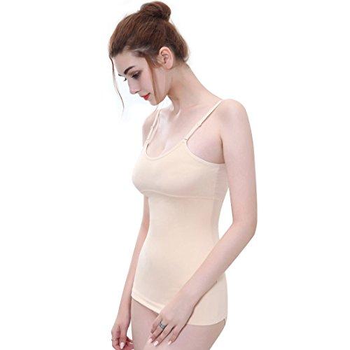 Body Beige Modellante Intima Top Donna Shaper Canottiera 0xfz5q6w