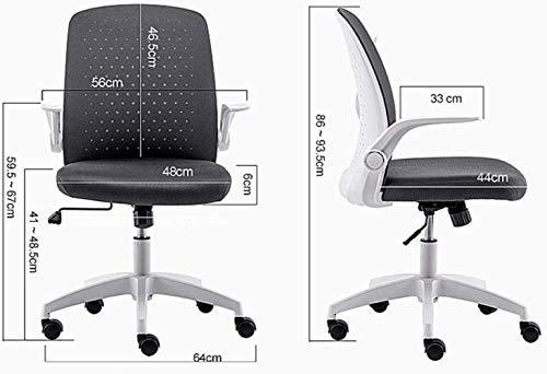 Kontorsstol ergonomi skrivbordsstol svängbar funktion lyft datorstol hushåll fåtölj