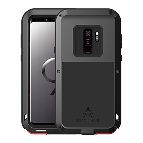 Samsung Galaxy S9 Plus case, Cresee Full-body Aluminum Metal Armour Bumper Case With Gorilla Tempered Glass Screen Protector For Samsung Galaxy S9 Plus 2018 Release