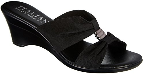 ITALIAN Shoemakers Womens Milly Dress Sandals 6 (Womens Black Italian)