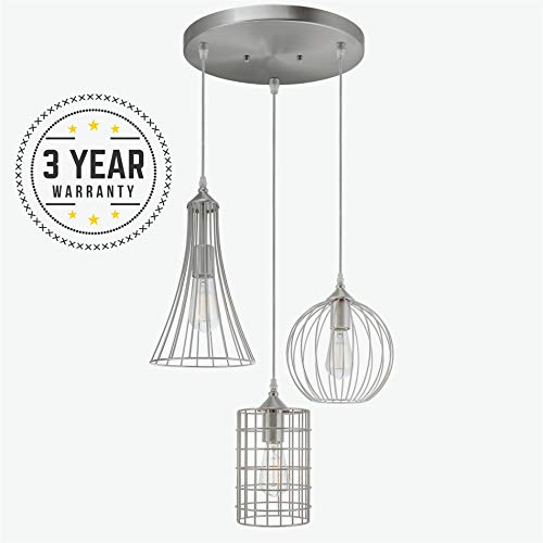 3 Cluster Pendant Lighting