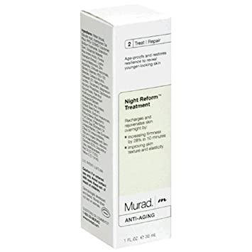 Murad Anti-Aging Night Reform Treatment, 2 Treat Repair, 1 fl oz 30 ml