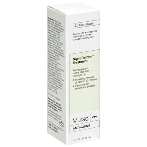 Murad Anti-Aging Night Reform Treatment, 2: Treat/Repair, 1 fl oz (30 ml)