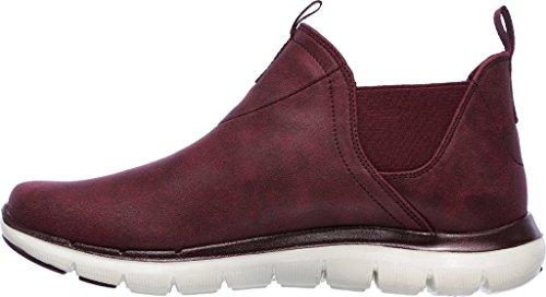 Skechers Sport Frauen Flex Appeal 2.0-Done Deal Fashion Sneaker Burgund