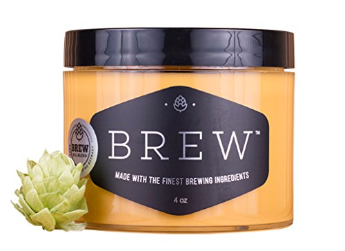 Brew Grooming Pale Ale Clay Pomade 4 Oz For Men | Matte Finish, Medium Hold | Made With Hops, Yeast & Barley | Reduces Dandruff, Combats Hair Loss, Thickens Hair - Male Chart Face