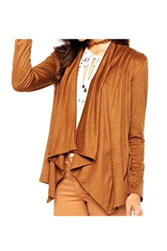 Pink-Queen-Womens-Faux-Suede-Fall-Fahion-Open-Front-Drape-Jacket-Cardigan-Coat