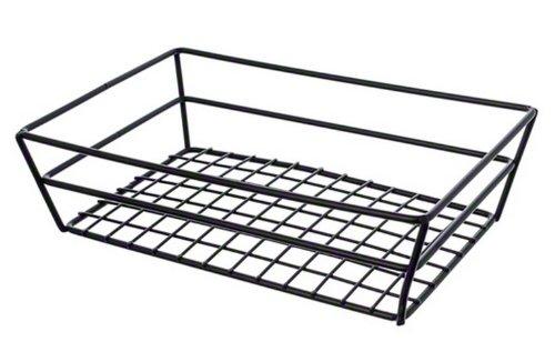 American Metalcraft RMB59C Rectangular Wire Grid Basket, Chrome
