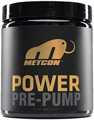 MetCon Power – Pre Pump – All Natural Non Flavored – Nitric Oxide Booster – Blood Flow