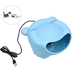 Aoile Automatic Pet Water Fountain Electric Water Dispenser for Small Cat Dog (USB Version)